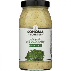 SONOMA GOURMET Sauce Pasta Kale Pesto White Cheddar