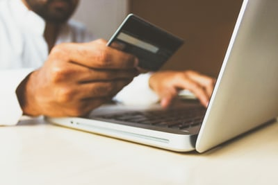 customer paying online