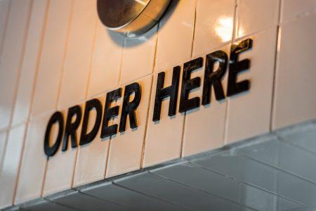 order sign