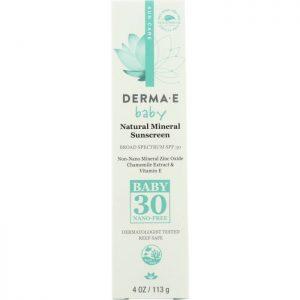 DERMA E Sunscreen Baby Spf 30