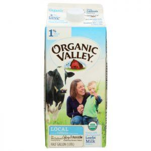 ORGANIC VALLEY 1% Milk Fat