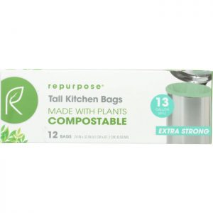 REPURPOSE Compostable Extra Strong Tall Kitchen Bags