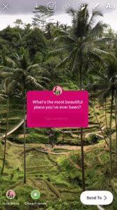 instagram question sticker