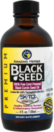 AMAZING HERBS: Oil Black Seed Premium, 4 oz