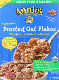 ANNIES HOMEGROWN: Organic Frosted Oat Flakes Cereal, 10.8 oz