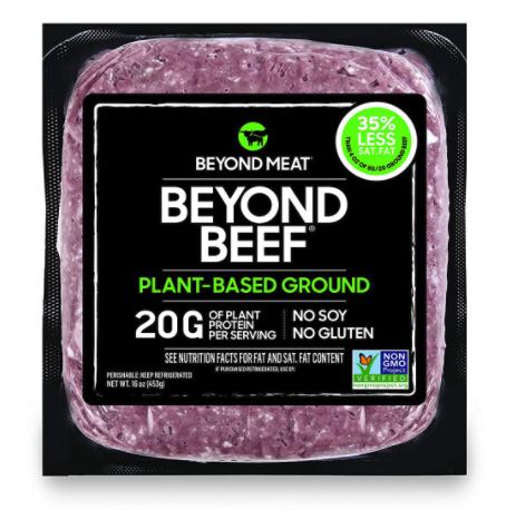 wholesale vegan food: Beyond Meat ground beef alternative
