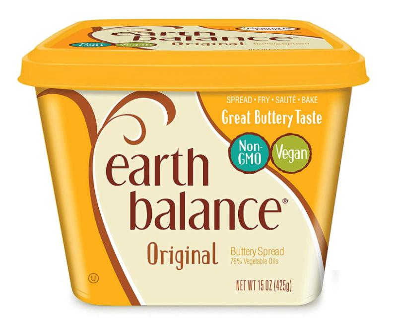 wholesale vegan food: Earth Balance vegan buttery spread