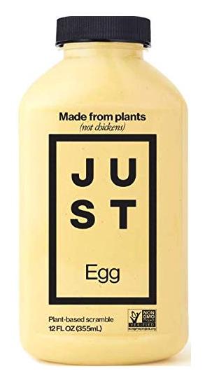 wholesale vegan food: Just Egg, egg alternative