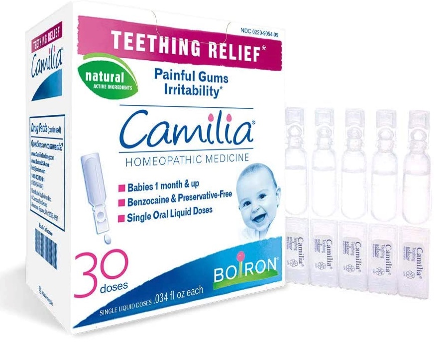 How to sell homeopathic medicine online: Boiron Camilia teething remedy