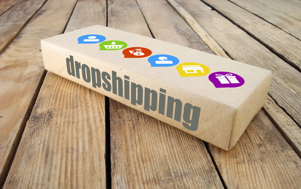 How to sell homeopathic medicine online by dropshipping. Image of dropshipping box.