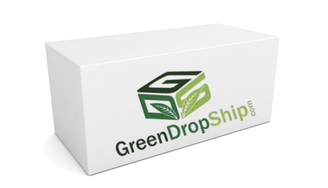 White package with GreenDropShip logo on side.