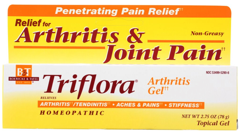 How to sell homeopathic medicine online: Nature's Way triflora arthritis gel