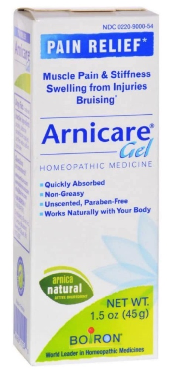 How to sell homeopathic medicine online: Boiron arnica gel