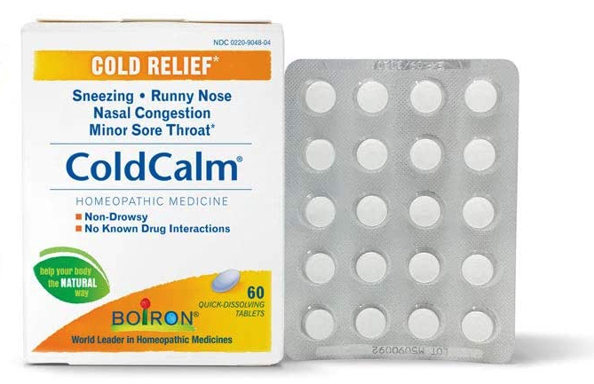 How to sell homeopathic medicine online: Boiron ColdCalm