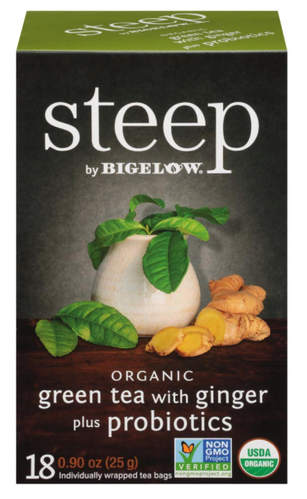 Dropshipping Food: Organic Bigelow green tea with ginger