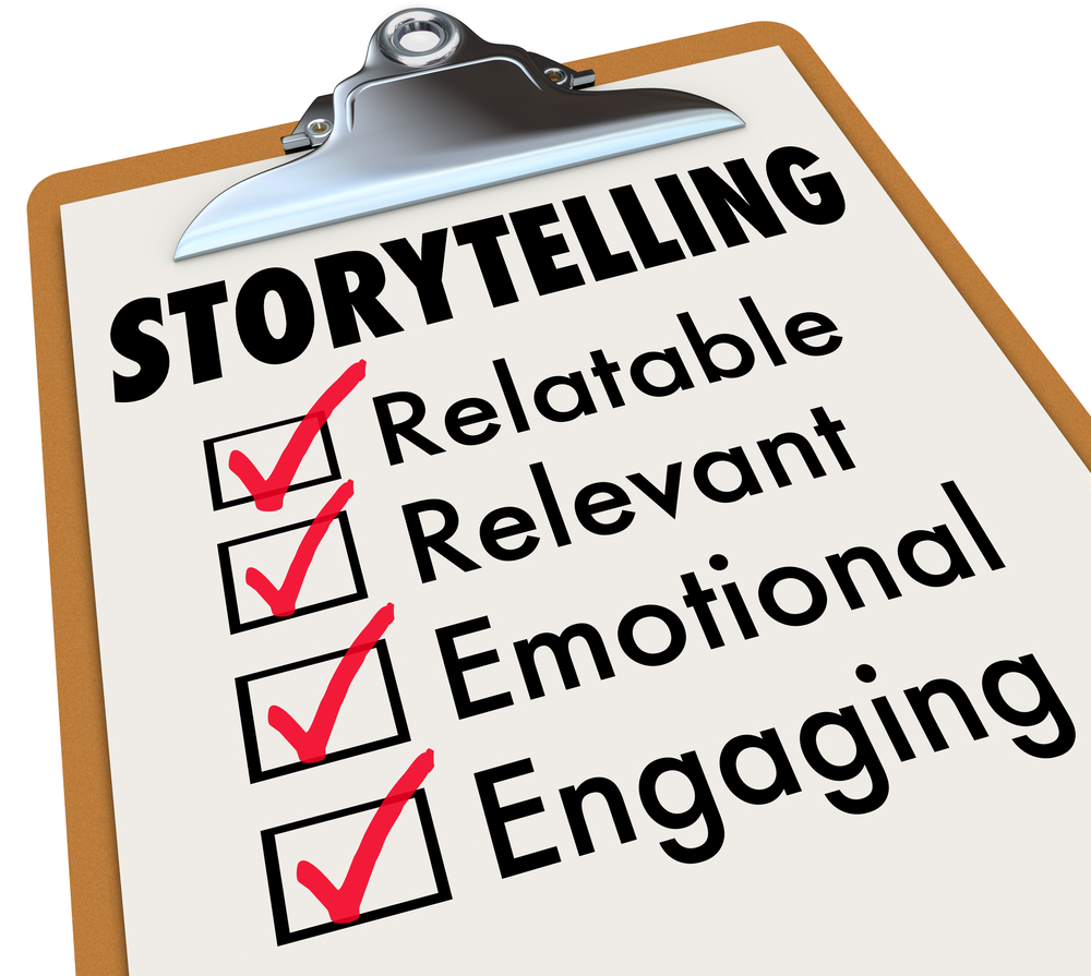 use brand storytelling to see wholesale vitamins. A storytelling checklist.
