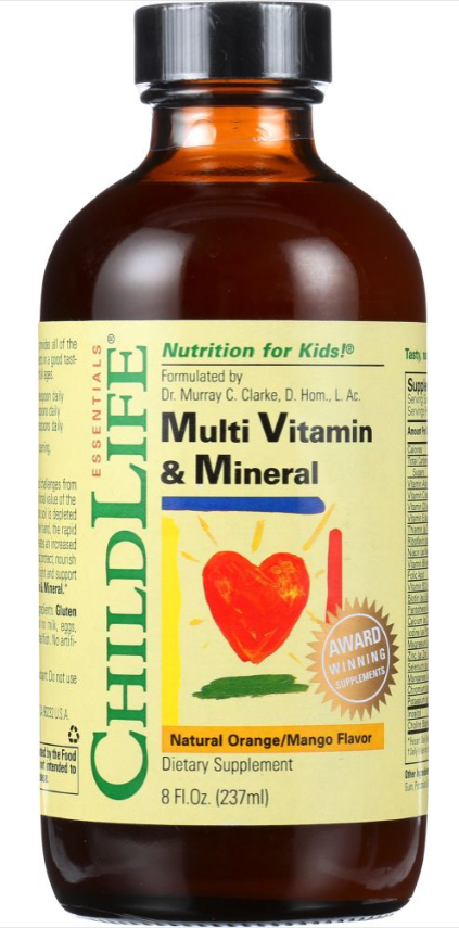 Dropship vitamins. ChildLife multivitamin and mineral for kids.