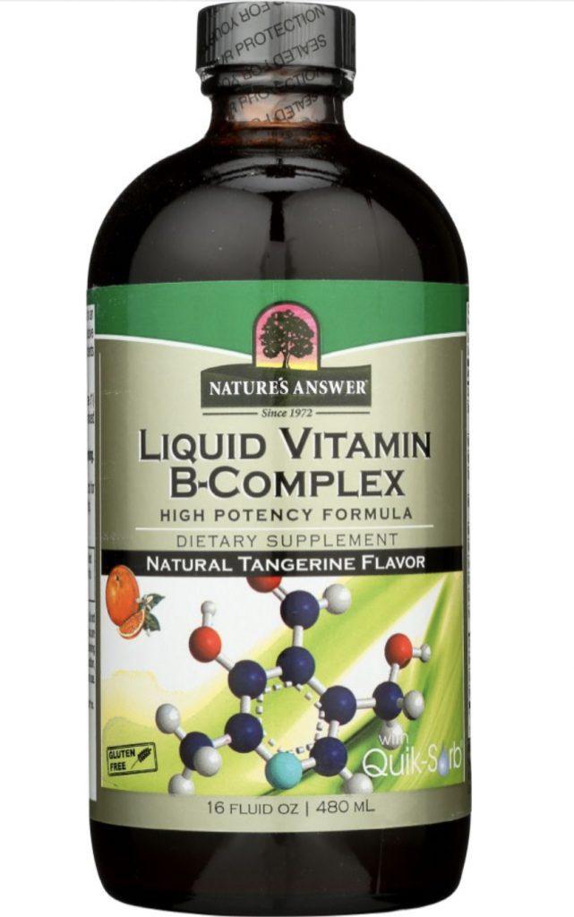 Dropship vitamins. Nature's Answer liquid B complex.