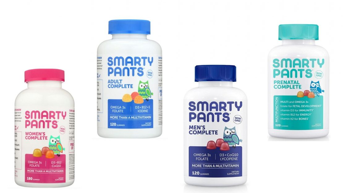 Dropship vitamins a selection of SmartyPants brand multivitamins for adults