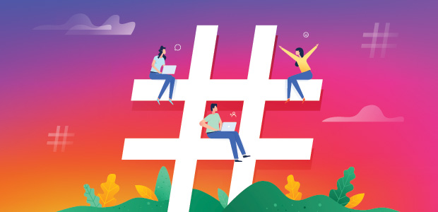 Choose the right beauty hashtags