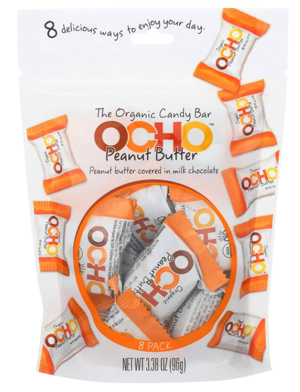 Dropshipping food: OCHO organic chocolate peanut butter candy