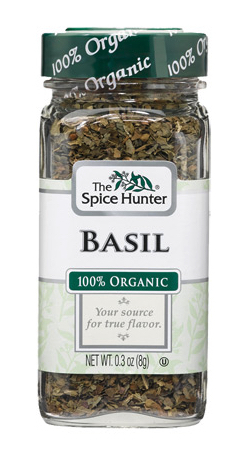 Dropshipping food: Spice Hunter organic basil