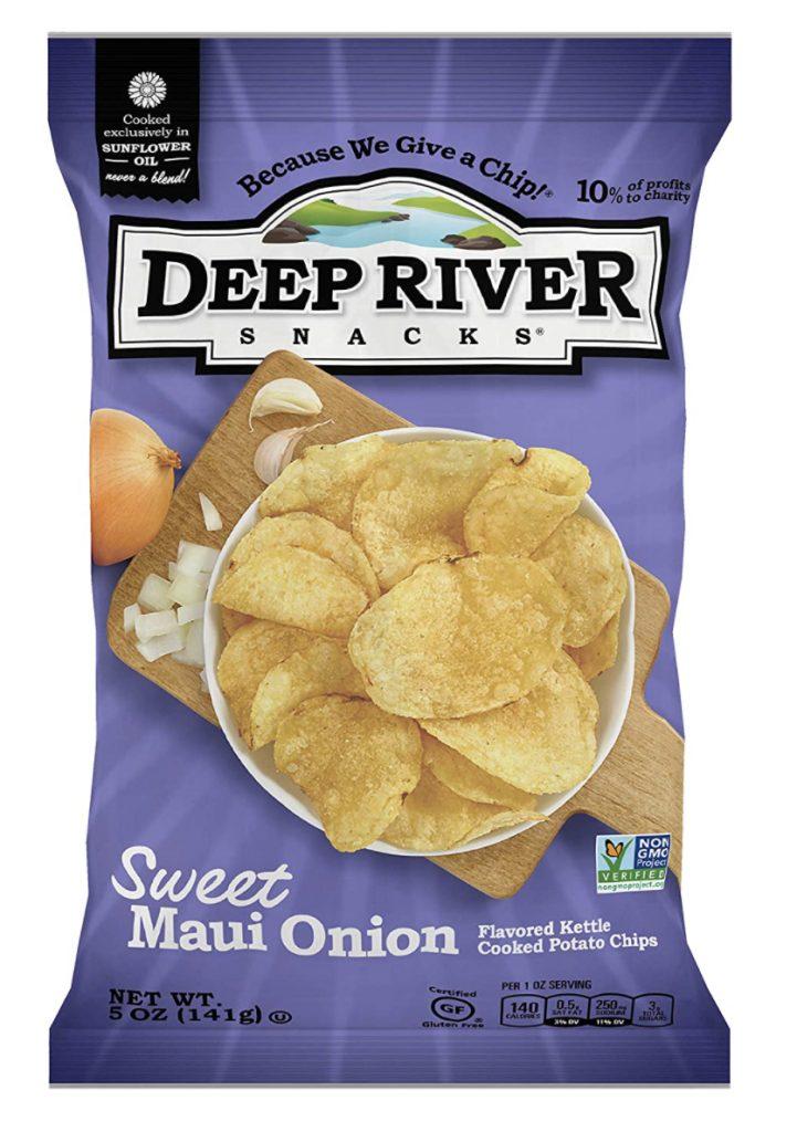 Deep River sweet Maui onion chips