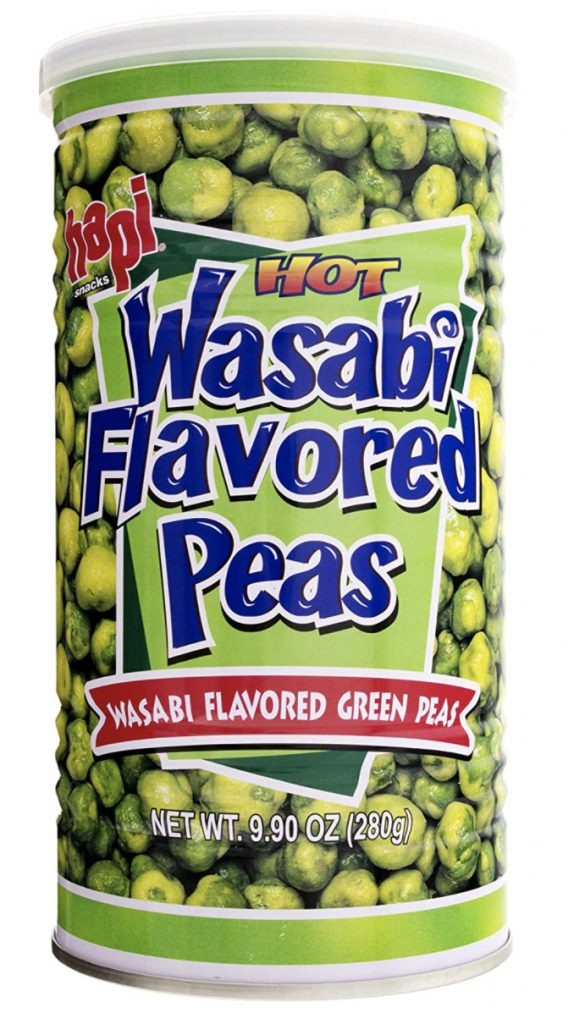 Hapi wasabi hot peas