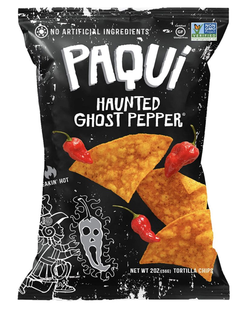 Paqui ghost pepper chips