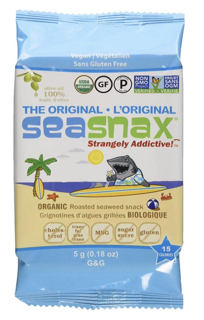 Sea Snax grab-n-go seaweed