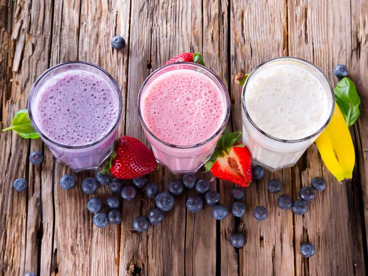 Share recipes for protein shakes and smoothies