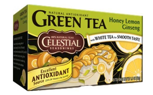 Celestial Seasonings: Green Tea With White Tea Honey Lemon Ginseng