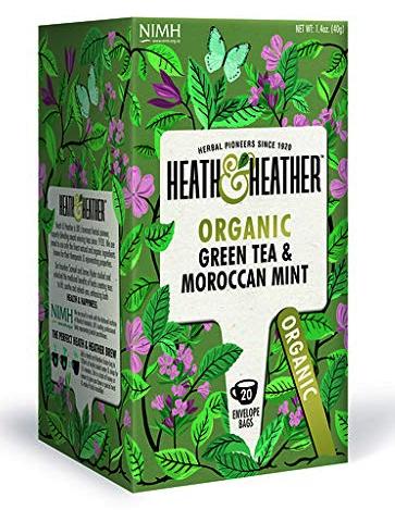 Heath and Heather: Organic Green Tea with Moroccan Mint
