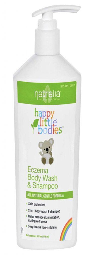 Natralia Happy Little Bodies baby body wash and shampoo