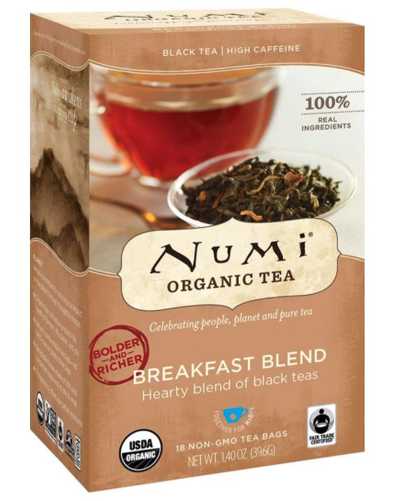 NUMI Teas: Morning Breakfast Blend Organic Black Tea