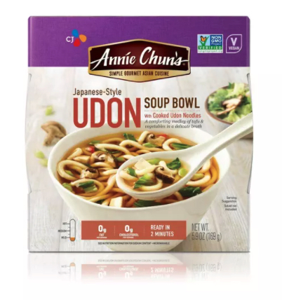 Annie Chun's: Udon Soup Bowl Mild